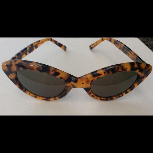 Sunglasses For Klein Riviera Anne Vintage Handmade kXiPOZu